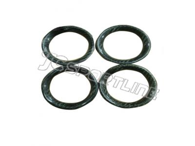 4pcs/set Carbon Fiber Air Con Surround Interior Trims for